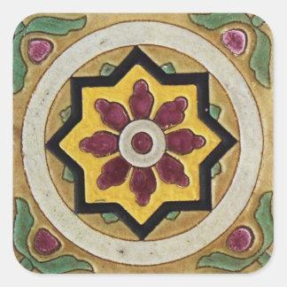 Azulejo do vintage adesivo quadrado