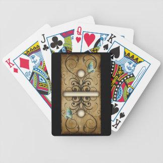 Azulejo dobro-um do dominó dos dominós do vintage jogos de cartas