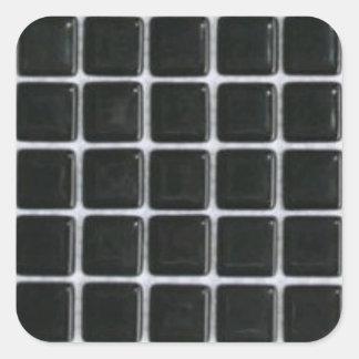 azulejo-etiqueta-preto-vidro-quadrados adesivo quadrado