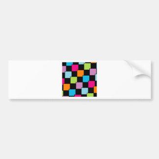 Azulejos coloridos adesivo para carro