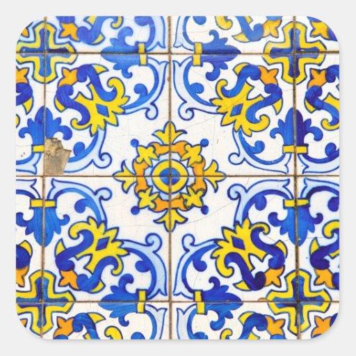 Azulejos de Azulejos Adesivo Em Forma Quadrada