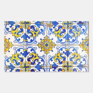 Azulejos de Azulejos Adesivo Retangular