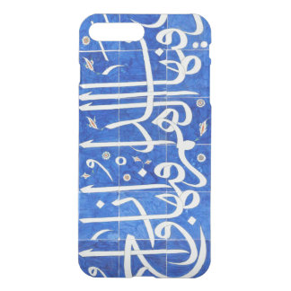 Azulejos de Iznik com caligrafia islâmica Capa iPhone 7 Plus