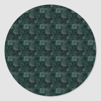 Azulejos na cerceta adesivo