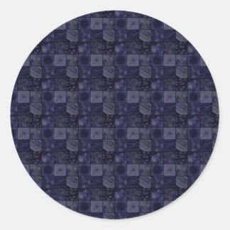 Azulejos no azul adesivo