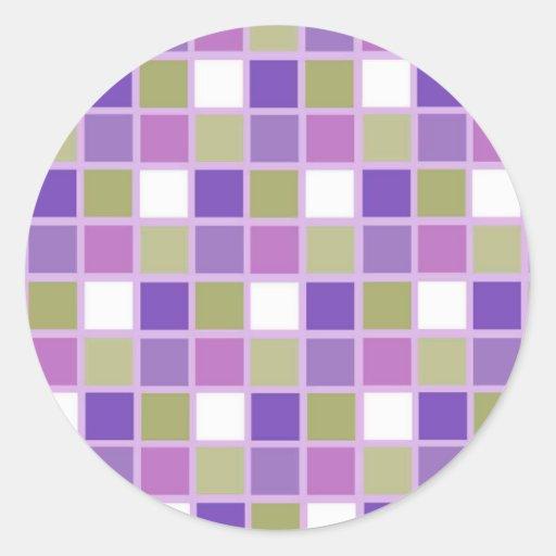 Azulejos para a arrelia adesivos redondos