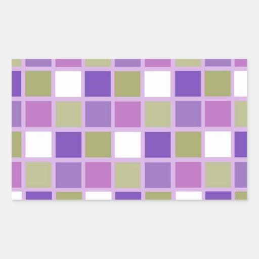 Azulejos para a arrelia adesivo retângular