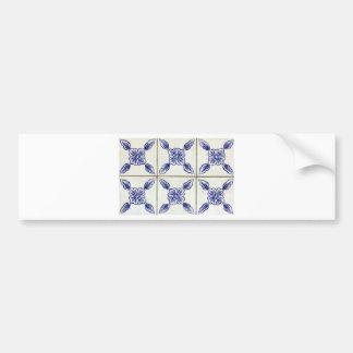 Azulejos, Portuguese Tiles Adesivo Para Carro