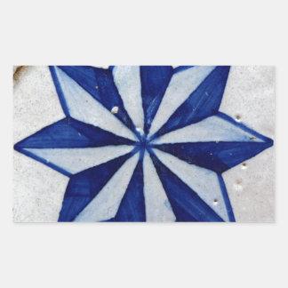 Azulejos, Portuguese Tiles Autocolantes Retangulares