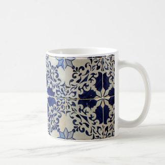 Azulejos, Portuguese Tiles Caneca De Café