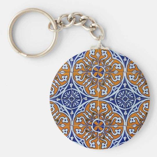 Azulejos, Portuguese Tiles Chaveiro