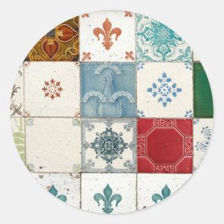Azulejos portugueses adesivo