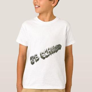 B. Educar-Cinza-Peso Tshirt
