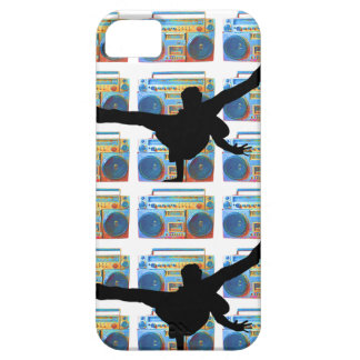 B-Menino de Boombox Capa Barely There Para iPhone 5