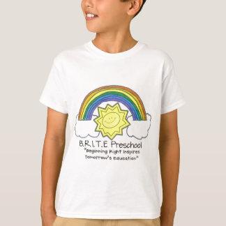 B.R.I.T.E. Pré-escolar T-shirt
