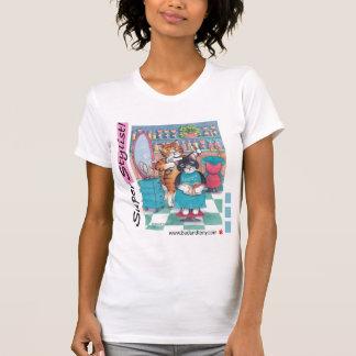 B & t-shirt do cabeleireiro de T #58
