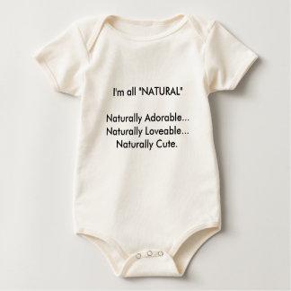 """Babador Bebê """"toda a"""" uma parte natural"""