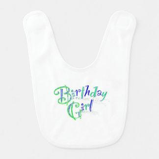 babador da menina do aniversário