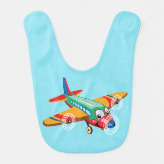Babador De Bebe avião dos desenhos animados