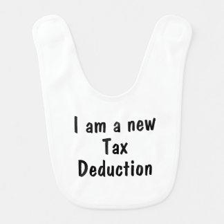 Babador De Bebe Eu sou uma dedução fiscal nova