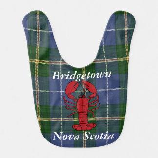 Babador De Bebe Tartan Bridgetown Nova Escócia do verão do