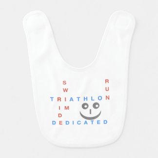 Babador De Bebe Triathlon eu sou dedicado