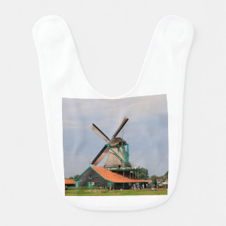 Babador De Bebe Vila holandesa do moinho de vento, Holland 3