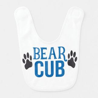Babador de Cub de urso do bebé