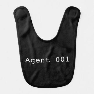Babador do bebê do agente 001