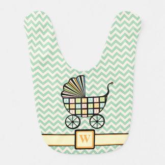 Babador do bebê do carrinho de criança dos blocos