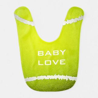 Babador do bebê do design do tênis