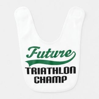 Babador futuro do bebê do campeão do Triathlon