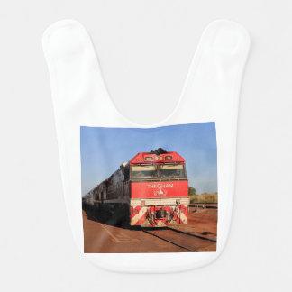 Babador Infantil A locomotiva do trem de Ghan, Darwin