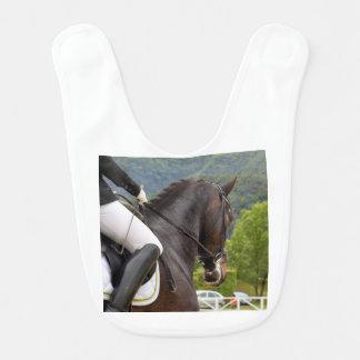 Babador Infantil Cavalo Dressage