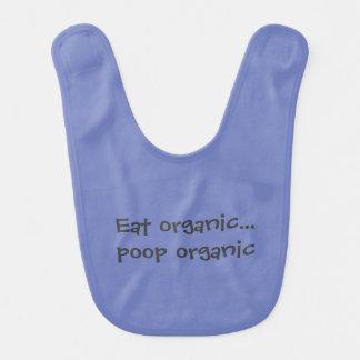 Babador Infantil Coma o tombadilho orgânico orgânico
