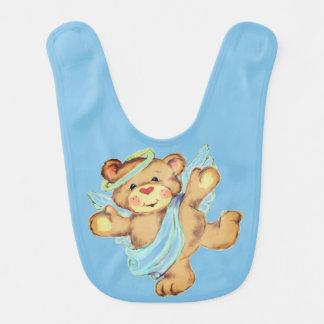 Babador Infantil Urso do anjo