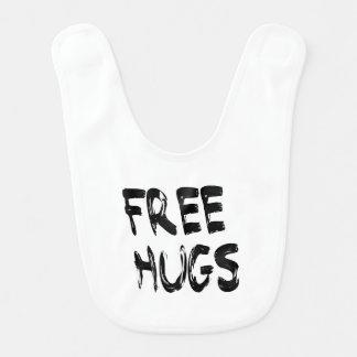 Babador livre do bebê dos abraços