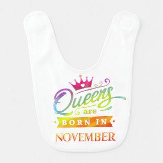 Babador O Queens é nascido em novembro. Aniversário.