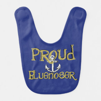 Babador orgulhoso do bebê da âncora de Bluenoser