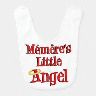 Babador pequeno do bebê do anjo de Memere