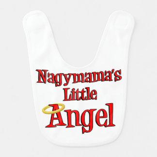 Babador pequeno do bebê do anjo de Nagymama