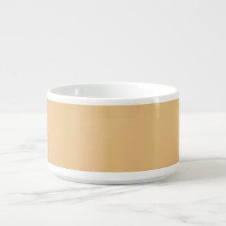 Bacia amarela do pimentão da toranja tigela para sopa