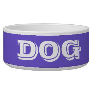 Bacia do cão por Janz grande no azul da ardósia Tijela Para Água Para Cachorros