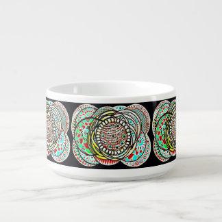 Bacia do pimentão da porcelana de Le Liza Design Tigela Para Sopa