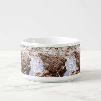 Bacia do pimentão do sapo do Rio Colorado Tigela De Sopa