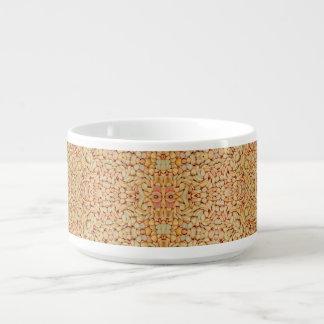 Bacia do pimentão do teste padrão dos seixos chili bowl