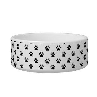 Bacia personalizada pequena do animal de estimação tijelas para comida de gatos
