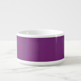 Bacia roxa do pimentão da uva tigela de sopa