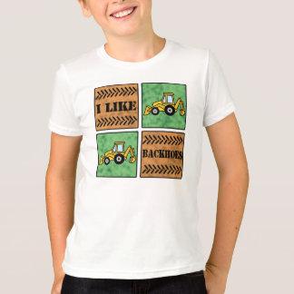 Backhoe Camiseta
