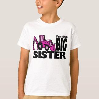 Backhoe da irmã mais velha camiseta